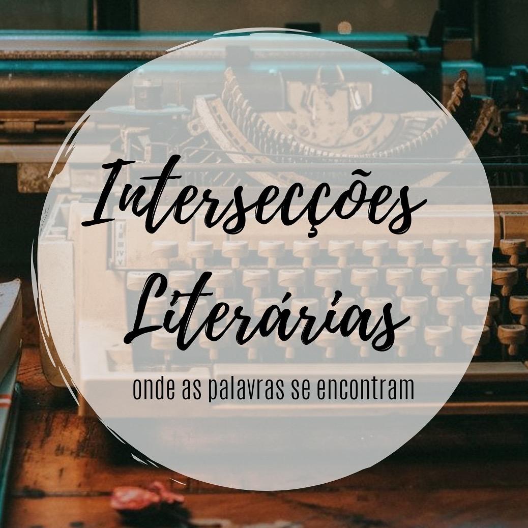 Logotipo da página colaborativa de  Instagram Intersecções Literárias.