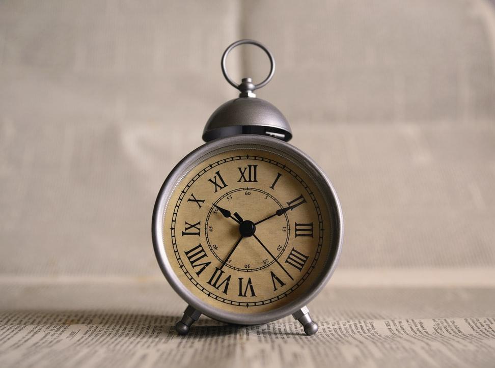 Imagem de relógio para contar o Tempo.