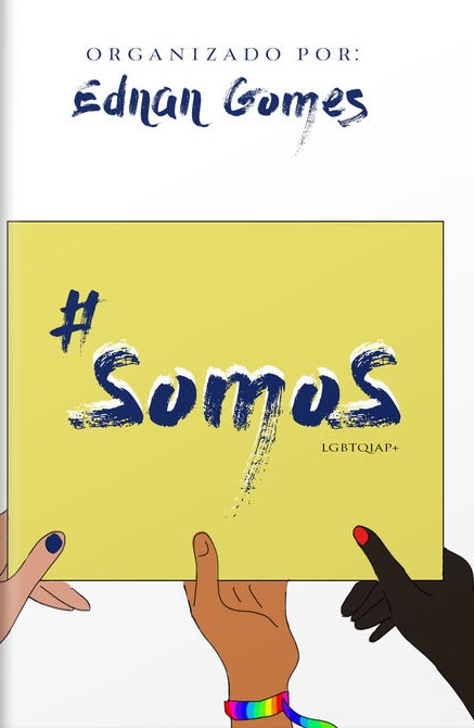 Capa da Antologia Somos, da Psiu Editora